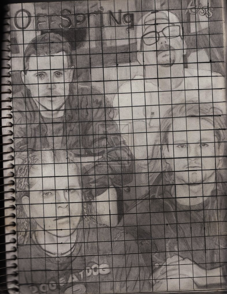 Offspring drawing FINALLY SCANNED (drawn: 2003) by MelyssaThePunkRocker