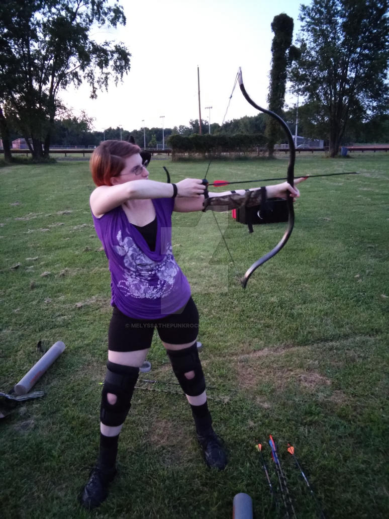 Battling Ehlers-Danlos syndrome through archery by MelyssaThePunkRocker