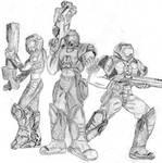 Quake 3 Doom Marines