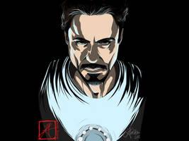 Tony Stark - Vid Included by InvisibleRainArt