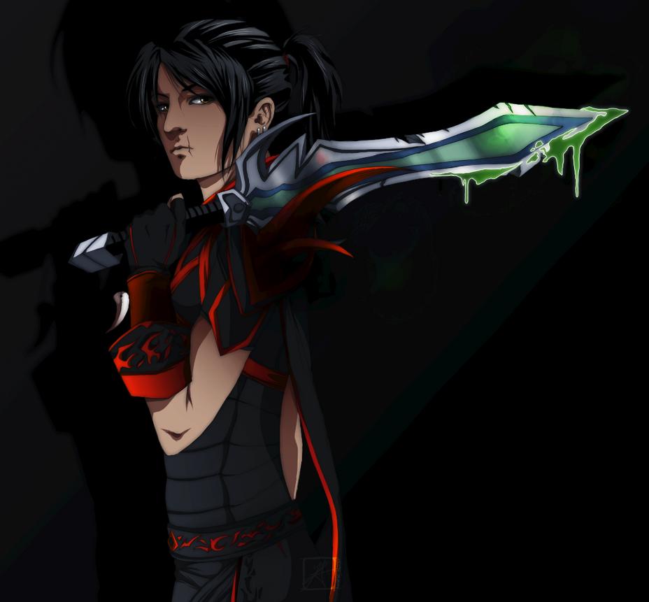 Creegan of Vigilantes by InvisibleRainArt