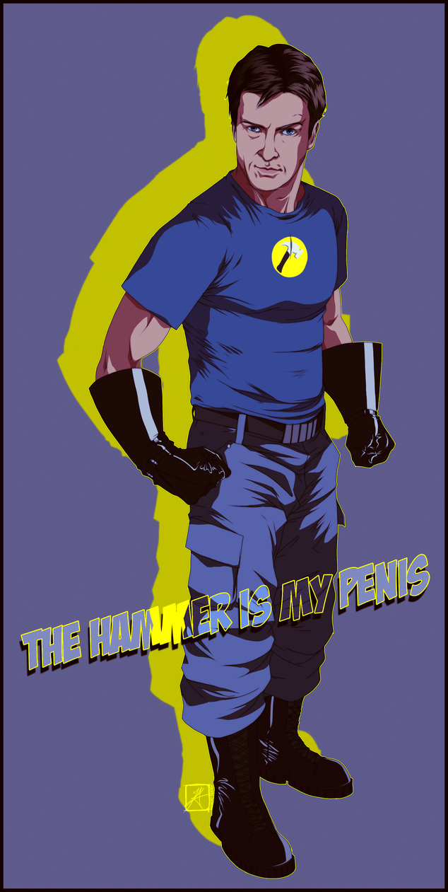 Captain Hammer! by InvisibleRainArt