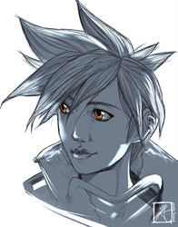 Tracer by InvisibleRainArt