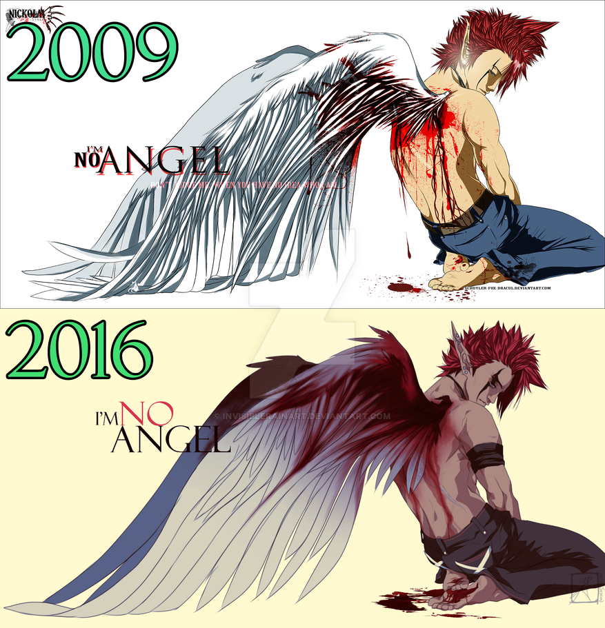 2009-2016 im no angel redraw by InvisibleRainArt