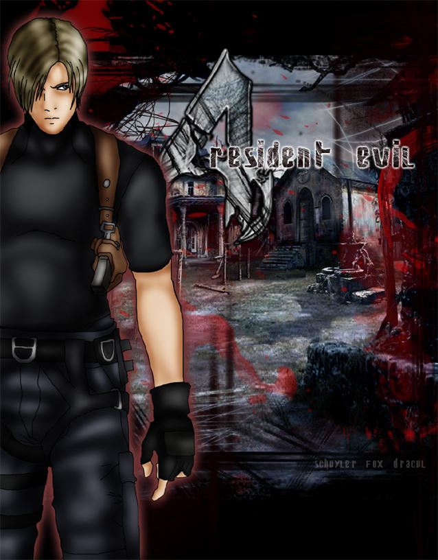 Leon Kennedy - RESIDENT EVIL 4 by InvisibleRainArt