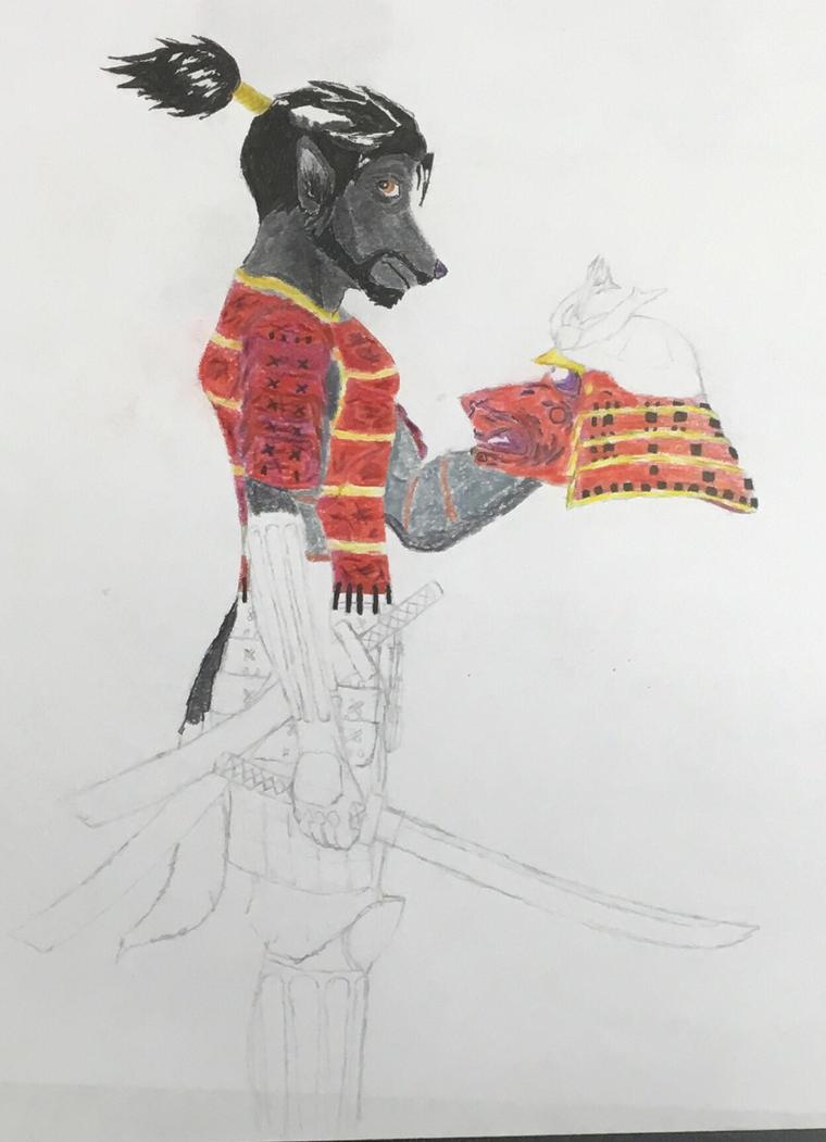 Takeshi the samurai  by Diyuzhihuo