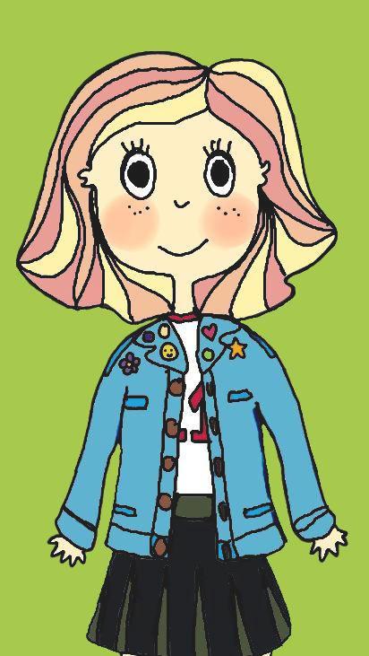 Peach Hair Girl