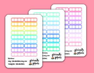 Digital Clocks Stickers