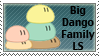 Dango Daikazoku Stamp by DarkPiro