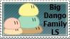 Dango Daikazoku Stamp by DarkPiro