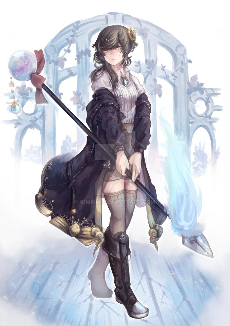 Magician by kimiriki