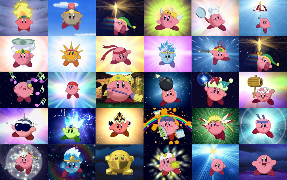 Kirby forms (screeenshots) by 2135qmzr on DeviantArt  Kirby forms (sc...