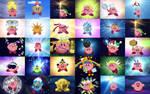 Kirby forms (screeenshots)