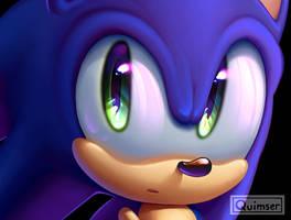 shiny eyed sonic