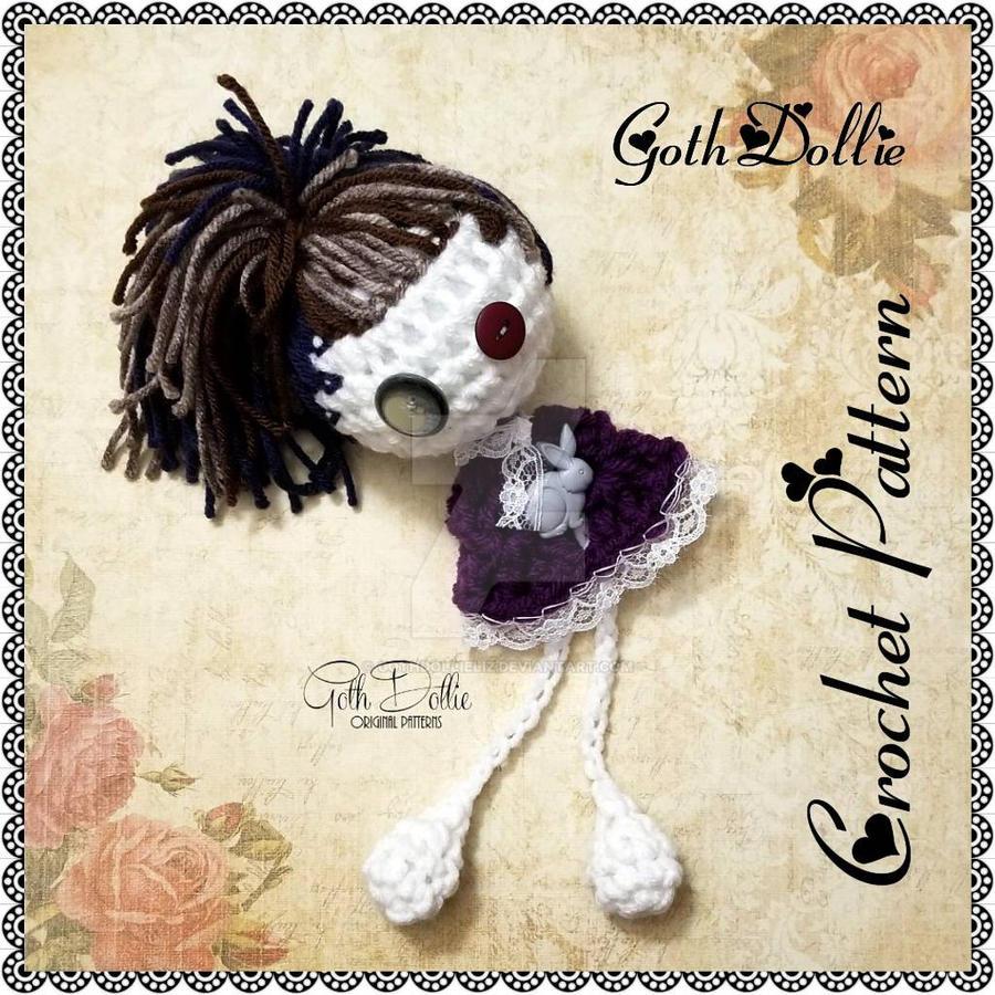 Ravelry: Gothic lolita with voodoo doll pattern by Rosana González   900x900