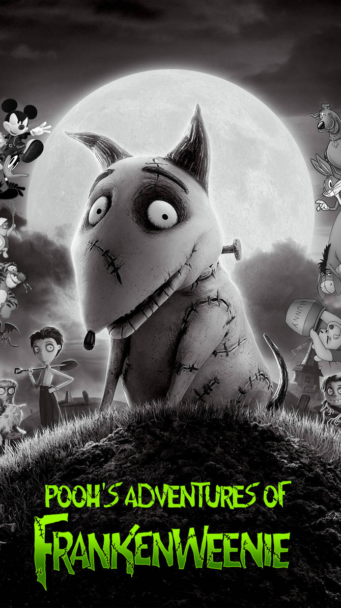 Pooh's Adventures of Frankenweenie by TheMultiverse101 on DeviantArt