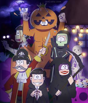 Osomatsu-San Halloween Fanart