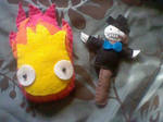 Calcifer and Turniphead
