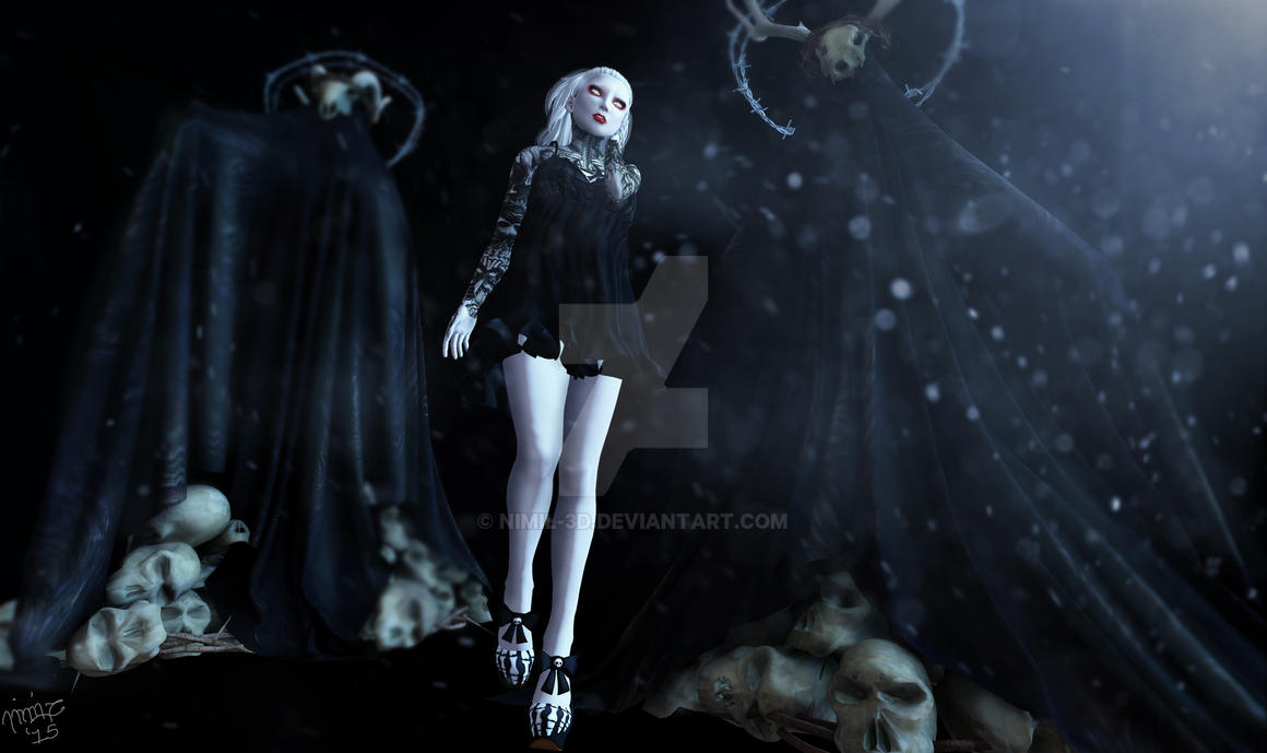 Freeky by nimil-3d