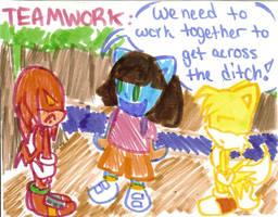 41. Teamwork by Shapoodle4u