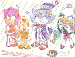 Treasure Team Tango by Shapoodle4u