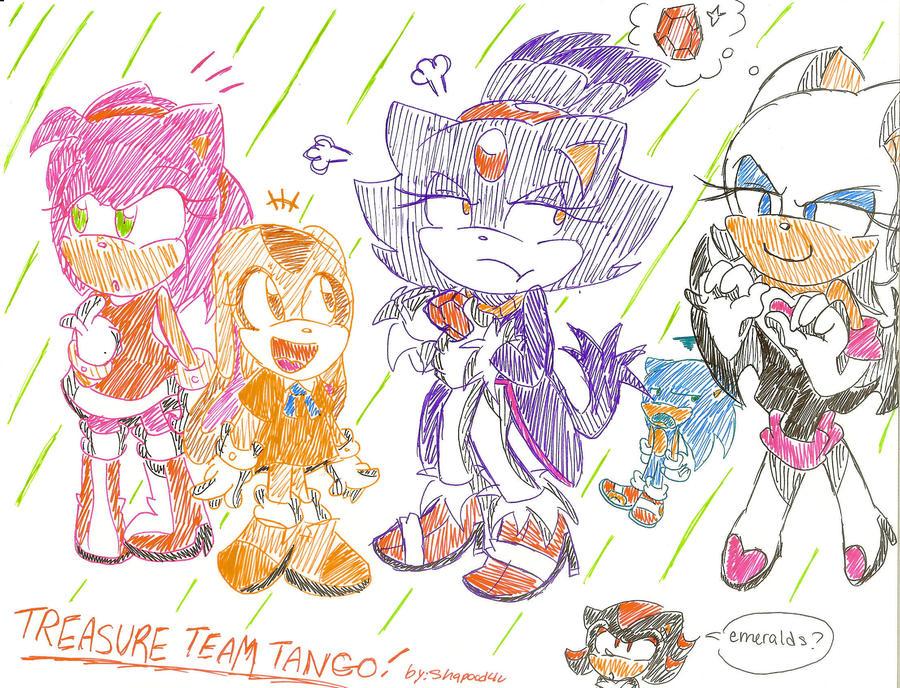 Sonic Universe Treasure Team Tango