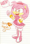 It's Amy Rose