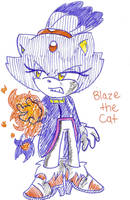 Blaze the Kitty Cat by Shapoodle4u
