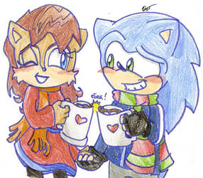 Christmas 2010: Sonic x Sally