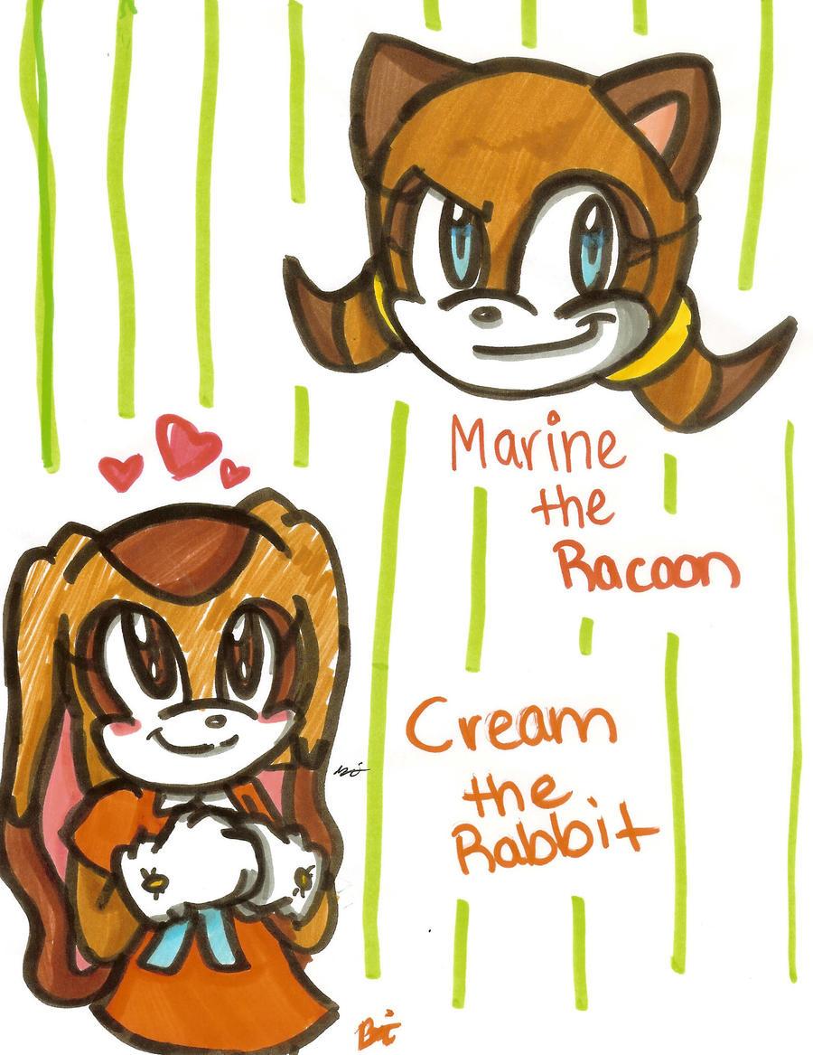 Cream and Marine by Shapoodle4u