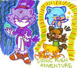 Sonic Rush Adventure by Shapoodle4u