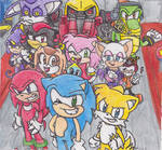 Sonic Heroes Collab