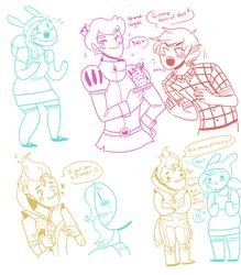 AT Doodles by Shapoodle4u