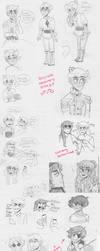 Sketch dump S W A G by Shapoodle4u