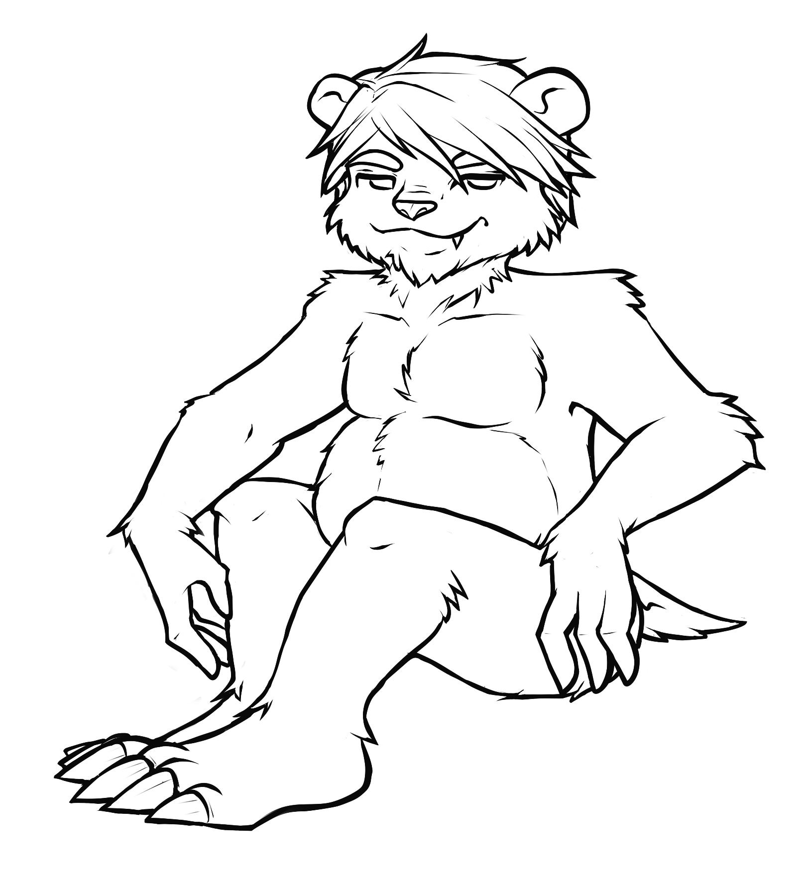 Christmas Bear by meeki