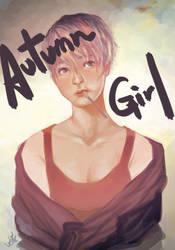 Autumn Girl by Langewong