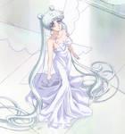 SMC Queen Serenity WHITE