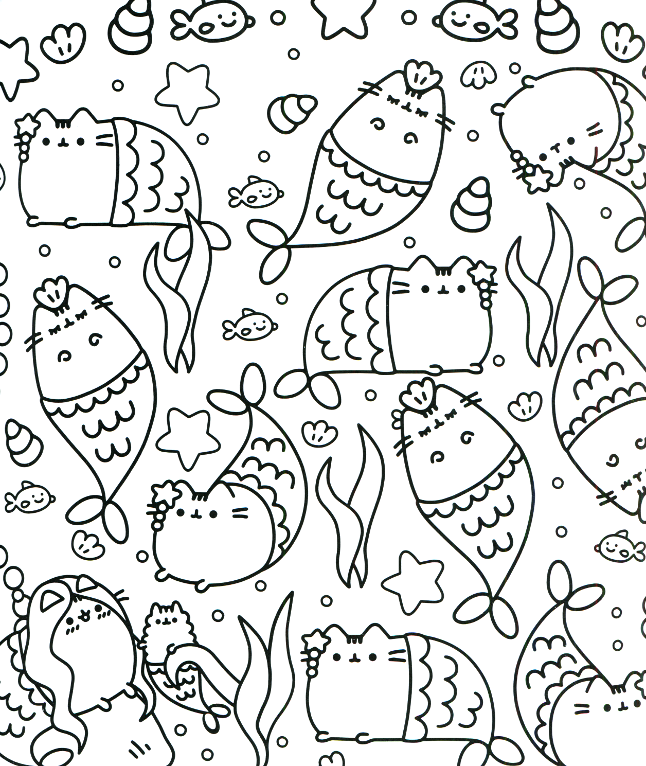 Pusheen coloring pages coloring pages Coloring book templates