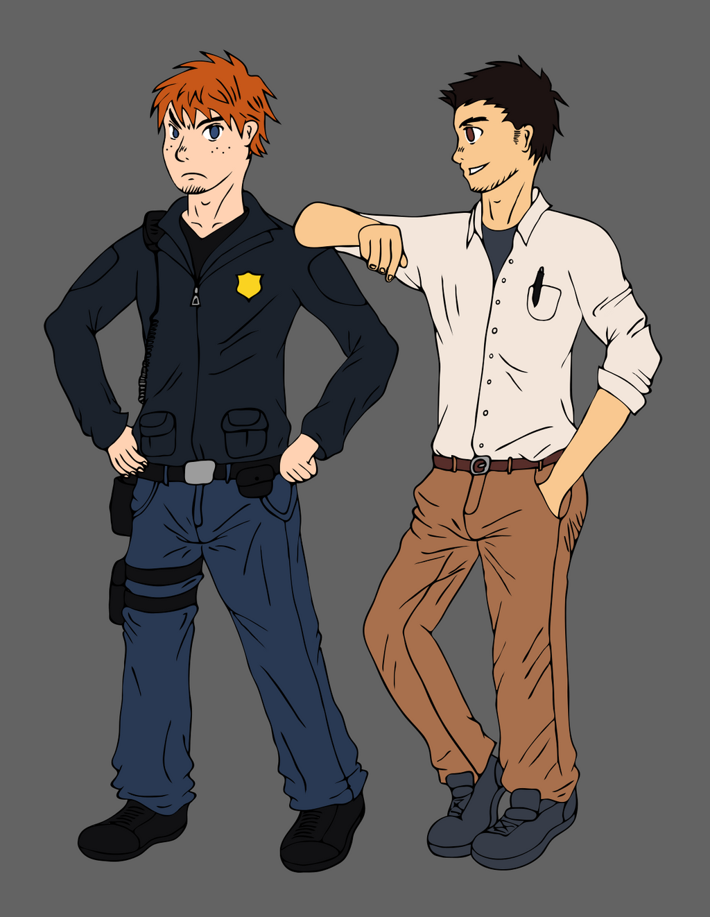The officer and the professor by yishn