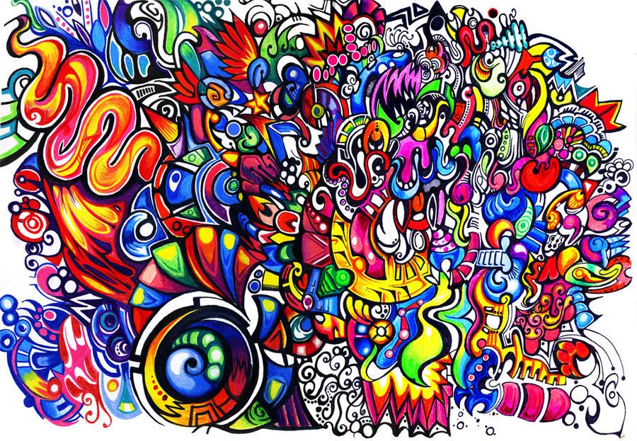 Rainbow Pattern 2 By Zyari On Deviantart