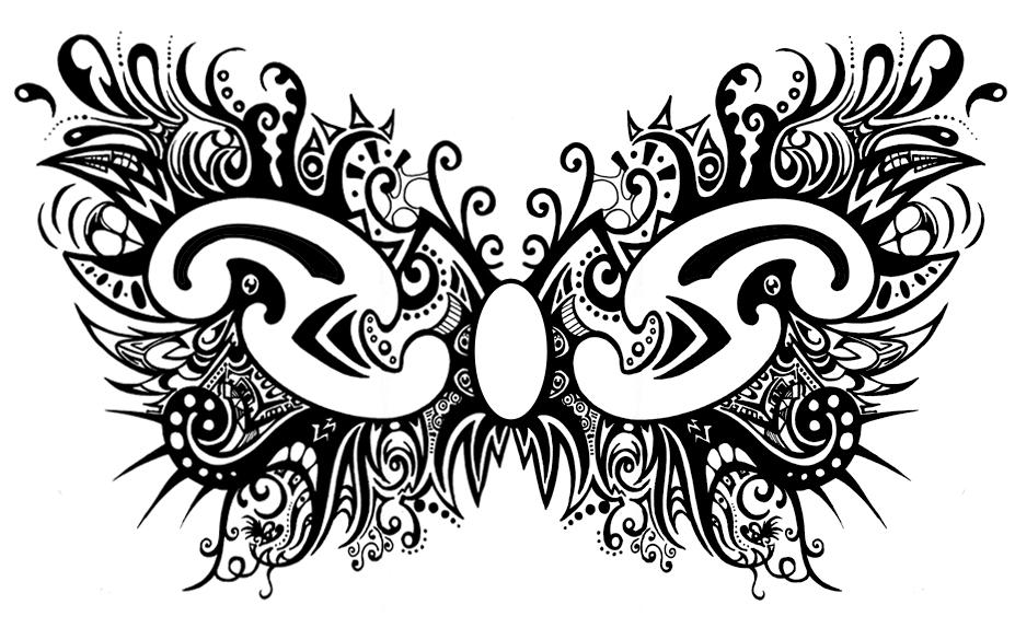 Butterfly Pattern by Zyari