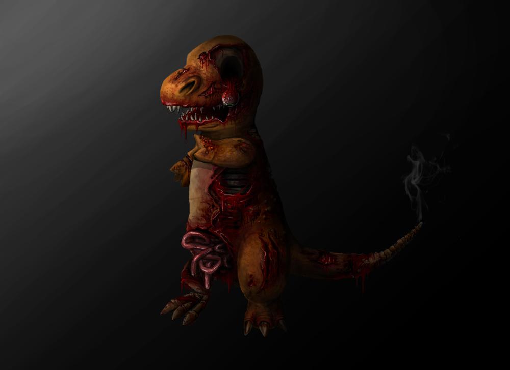 Zombie Charmander By Zyari On DeviantArt