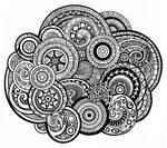Circle Swirls Pattern