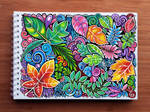 Colourful Leaves Pattern