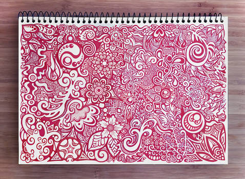 Red Ink Pattern