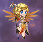 Chibi Holy Priestess Mercy