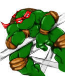 Unfinished Raphael Coloring