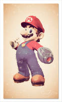 Super Mario Buster by garnettrules21