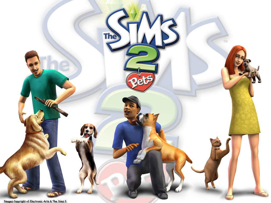 Sims 2 Pets Wallpaper by garnettrules21 on deviantART