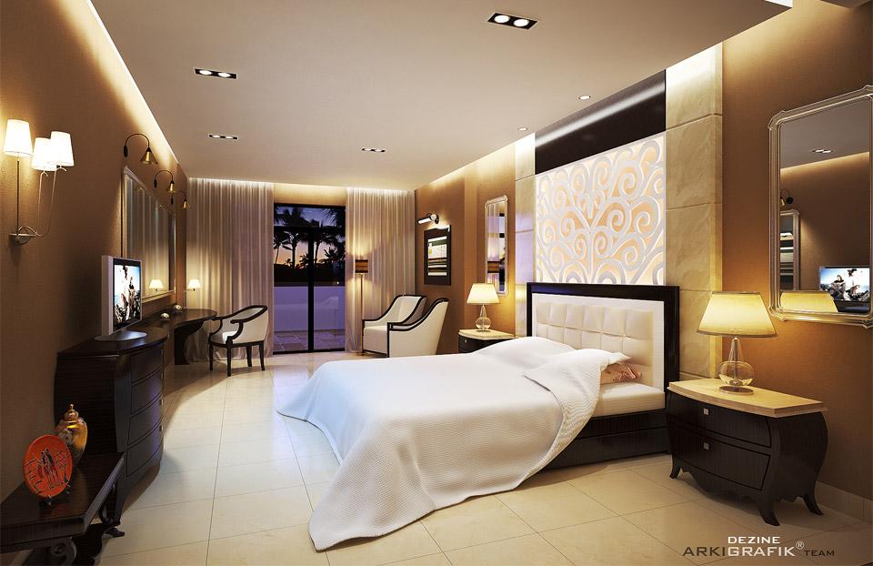 Oriental Bedroom By HongPhi ...